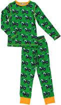 Maxomorra Pyjama Tractor grün Gr. 86/92