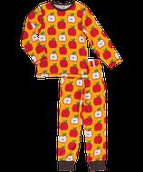 Maxomorra Pyjama Apple Gr. 98/104