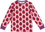 Maxomorra Shirt LS Ladybug Gr. 68