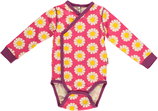 Maxomorra Wickel-Body Daisy pink Gr. 44