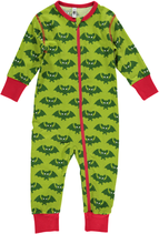 Maxomorra Rompersuit Zipper Bat