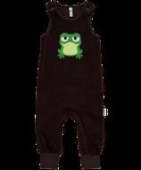 Sale! 50 % Maxomorra Playsuit Embroid Frog velour