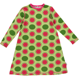 Maxomorra Kleid LS Watermelon Gr. 110/116