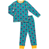 Maxomorra Pyjama Set LS Robot