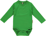 Maxomorra Langarmbody Basic green