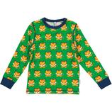 Maxomorra Shirt LS Tiger Gr. 110/116