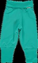 Maxomorra Babypants Rib Turquoise