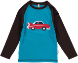 Sale! 50 % Maxomorra Shirt LS Front Car Gr. 80