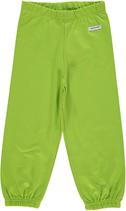 Maxomorra Pants basic Sweat hellgrün