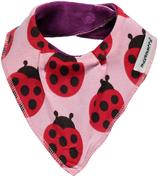 Maxomorra Dribble Bib Ladybug