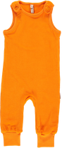 Maxomorra Playsuit Velour orange