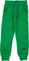 Maxomorra Pants regular velour grün Gr. 92