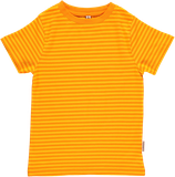 Sale! 50 % Maxomorra Kurzarmshirt gelb/orange stripes