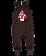 SALE 50 % Maxomorra Playsuit Embroid Mushroom velour