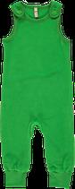 Maxomorra Playsuit Velour dark green Gr. 74