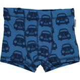 Maxomorra Boxer Shorts Cars Blue gr. 86/92