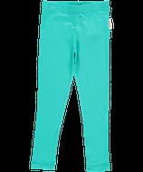 Maxomorra Leggings velour turquoise