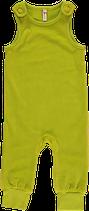 Maxomorra Playsuit Velour light green