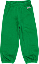 Maxomorra Pants basic velour dunkel grün Gr. 92