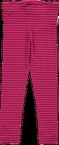 Maxomorra Leggings cerise/purple Stripes
