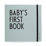 Designletters: Baby's First book blau