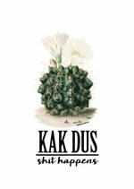 "Studio Inktvis kaart ""Kak - shit happens"""