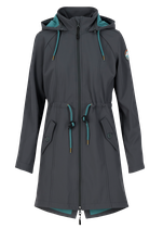 Blutsgeschwister Swallowtail Lightweight Coat Anthraciet