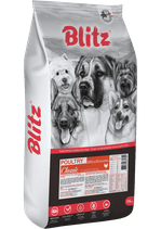 Blitz Classic Poultry Adult Dog All Breeds 15 кг
