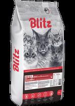Blitz Sensitive Beef Adult Cats All Breeds 1кг (в развес)