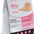 Blitz Complete Dry Food for Adult Cats — Ягненок 10 кг