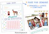 Pack d'activités juillet 2020 - L'Amérique du Sud