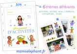 Pack  d'activités du mois de Juin