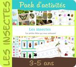Pack activités - Insectes