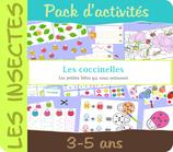 Pack activités - Les coccinelles
