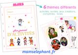 Pack  d'activités du mois de Mars