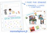 Pack d'activités octobre 2020 - Les métiers