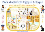 Pack  d'activités Egypte Antique
