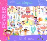 Pack activités - Le Cirque
