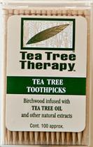 Tea Tree Therapy Zahnstocher - Minze / Mint