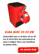 Chaudière à pellet Ulma Mini 30 kW