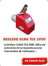 Brûleur Ulma TCA 2   20kW  AUTOMATIQUE