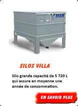 Silo granulés Villa 5 720 L