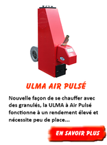 Chaudière Ulma à Air Pulsé