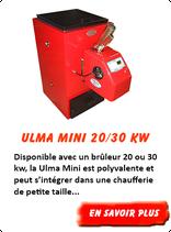 Chaudière à pellet Ulma Mini 20 kW