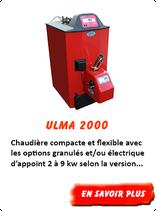 Chaudière à pellet Ulma 2000