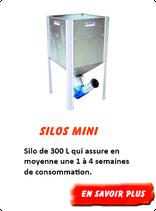 Silo granulés Mini 300 L