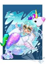 Relaxing Mermaid