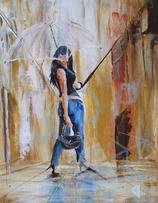 Umbrella Woman