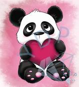 Herz Panda
