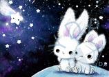 Häschen unterm Sternenhimmel